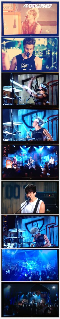 So I took photos of the boys performing from my tv and they turned out AWSOME !!<<<< they did, LOVE these!!!