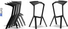 Барный стул Miura #chair #design