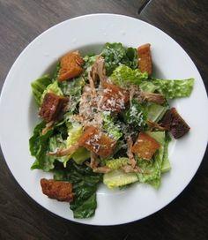 Filipino Pantry Chicken Caesar Salad