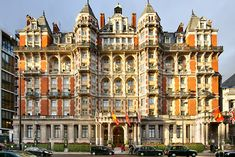 Mandarin Oriental Hyde Park London. Great location and service!