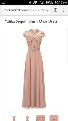 Womens Rhonda Sequin Maxi Dress Frock and Frill HVUTV2H6Nb