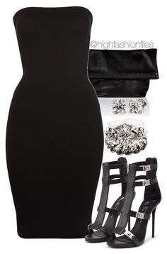 """""""Lbs"""" by highfashionfiles ❤ liked on Polyvore featuring moda, Jil Sander, Wolford, Giuseppe Zanotti, Lanvin y SHOUROUK"""