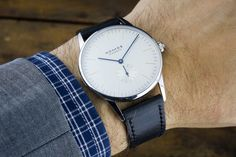 """Nomos Glashuette Orion 38 Watch Review - Plus photos and video on aBlogtoWatch.com """"As a dyed-in-the-wool sport watch guy, I always have some trouble with dress watches. I've reviewed a handful in my time and while many were great watches, I never feared the moment when a dressy piece would be returned to its owner and I would go back to my personal collection of brutish divers and tough-boy pilots. That changed when I got a chance to see a variety of Nomos watches earlier this year..."""""""