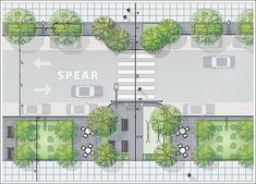 It's Time To Put The Rincon Hill Streetscape Master Plan In Place - SocketSite. - It's Time To Put The Rincon Hill Streetscape Master Plan In Place – SocketSite™ - Urban Architecture, Beautiful Architecture, Architecture Details, Architecture Diagrams, Architecture Portfolio, Urban Design Diagram, Urban Design Plan, Urban Landscape, Landscape Design