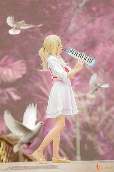 Shigatsu wa Kimi no Uso - Bộ cosplay của những giai điệu và sắc màu