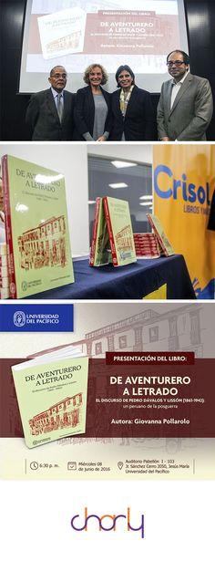 Fondo Editorial de la Universidad del Pacífico Presentación de libro: Post y gráfica para la ponencia.