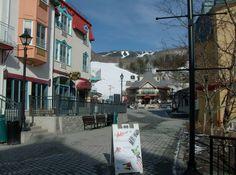Tremblant Village Streetscape