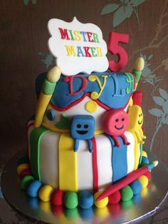 Mister maker cake Harry Birthday, 3rd Birthday Parties, 4th Birthday, Birthday Ideas, Birthday Cake, Mister Maker Crafts, Celebration Cakes, Birthday Celebration, New Cake