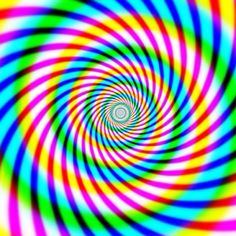 psychedelic swirl ...