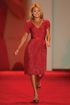 kelly ripa - love Kelly and this red dress!!