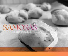 Samosas (out of the oven)