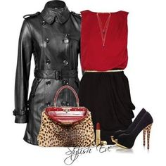 All purchasing details are available!   For More:http://www.stylisheve.com/red-winter-2013-outfits-for-women-by-stylish-eve/