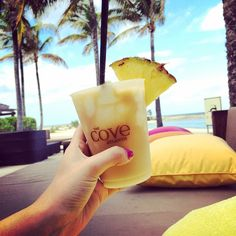 Cheers to another great day in paradise! Sweet bliss at The Cove! #ThirstyThursday (Photo by ellie_marti)