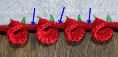 Caseado em crochê para fraldas