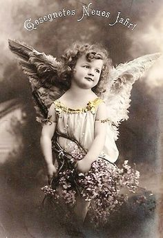 Vintage tinted photo postcard
