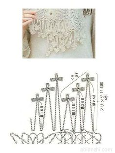 crochet chart ❥Teresa Restegui http://www.pinterest.com/teretegui/❥