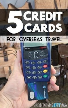 When it comes to paying by credit card overseas, you'll often find that the card you use at home isn't suited to making charges in a foreign country. So before you take your next big trip, consider these five credit cards that have the features you'll need all over the world