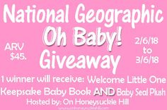 National Geographic Welcome Little One Review and Oh Baby! Prize Pack Giveaway