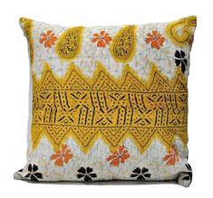 Decorative cushion cover for sofa cute pillows for bed room - Handloom