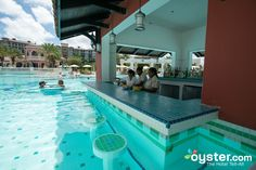 Swim-Up Bar at the Sandals Grande Antigua Resort & Spa