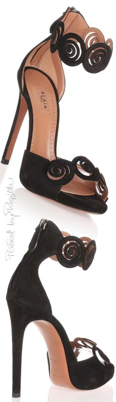 Alaia knows how to create the greatest heels
