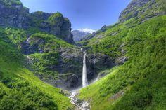 Waterfall in Oldedalen
