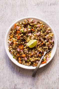moong sprouts salad is a very easy as well as a very healthy recipe. moong beans sprouts salad is specially good for people who does not have much time for cooking.