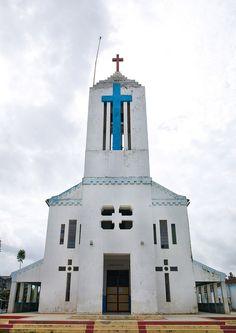 Church In Huambo, Angola [more at pinterest.com/azizashopping]