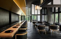 Kerry Hill's Architectural Legacy Lives On In Aman Kyoto | Habitus Living Kerry Hill Architects, Cypress Wood, Tile Panels, Lounge, Japanese Architecture, Sustainable Architecture, Beautiful Architecture, Hospitality Design, Elle Decor