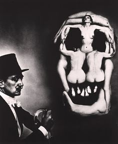 In Voluptas Mors (1951) Salvador Dalí, Philippe Halsman