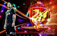 Luis Suarez Liverpool 2012/2013 Wallpapers HD