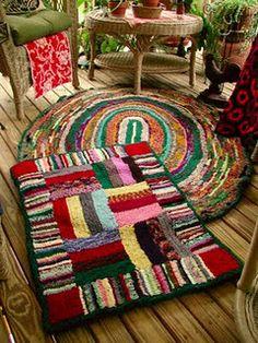 shirret rug