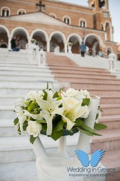 Plan your perfect wedding in Greece and let us organize your dream event! We are full-time wedding planners in Greece, Santorini, Mykonos, Athenian Riviera. Santorini Greece, Athens Greece, Mykonos, Santorini Wedding, Greece Wedding, Flower Decorations, Table Decorations, Orthodox Wedding, Perfect Wedding