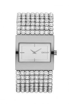 NY4661 - DKNY Glitz dames horloge