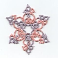 Image result for interlocking rings in tatting