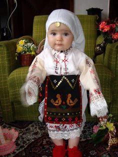 """Българка..."" And that means...? Not sure what her ethnicity is but I am sure she's adorable!"