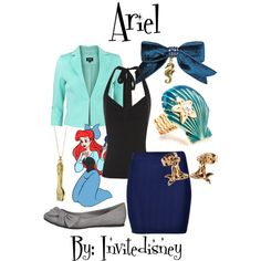 """Ariel"" by invitedisney on Polyvore"