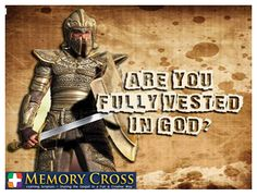 Are you? #GodsArmor