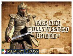 Are you? #GodsArmor