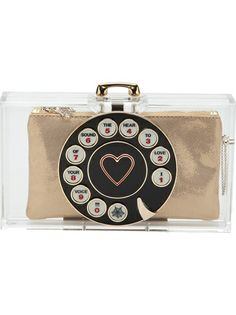 Shop now: Dial Pandora clutch