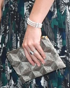 Duchess Kate: Kate in Bird Print Markus Lupfer Dress & Diana's Pearl Bracelet for Clärchens Ballhaus Reception