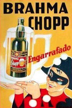 cartaz Brahma Chopp