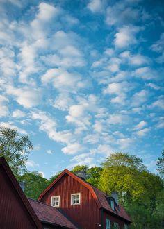 Stockholm • Sweden - Summer sky over Stockholm city. - Photo by Danne Eriksson