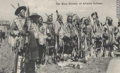 Blackfoot Indians in Alberta Canada