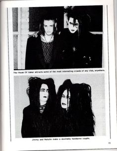 That chick on the bottom right has to have had pigtails to support that hairstyle. And I want it. 90s, Postpunk Project