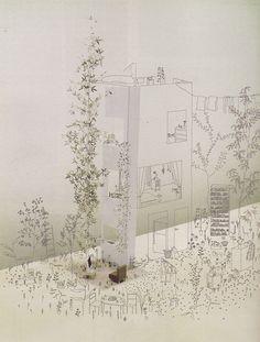 openhouse barcelona art & architecture drawings fantasies junya isigami japan