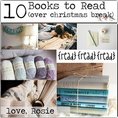 """10 Books to Read Over Christmas Break"" by happylittlegreengirltips ❤ liked on Polyvore"