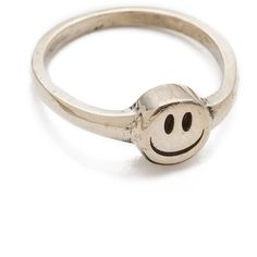Cast of Vices Happy Face Ring ($176) ❤ liked on Polyvore