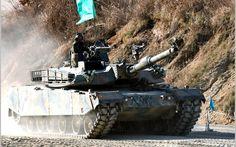 K1A1 Rokit - Southkorean main battle tank