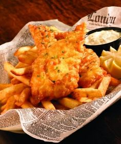 Fish & chips done right at Baker Street Pub & Grill in Oklahoma City.